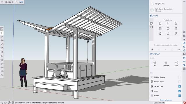 3D-планировщик дачного участка
