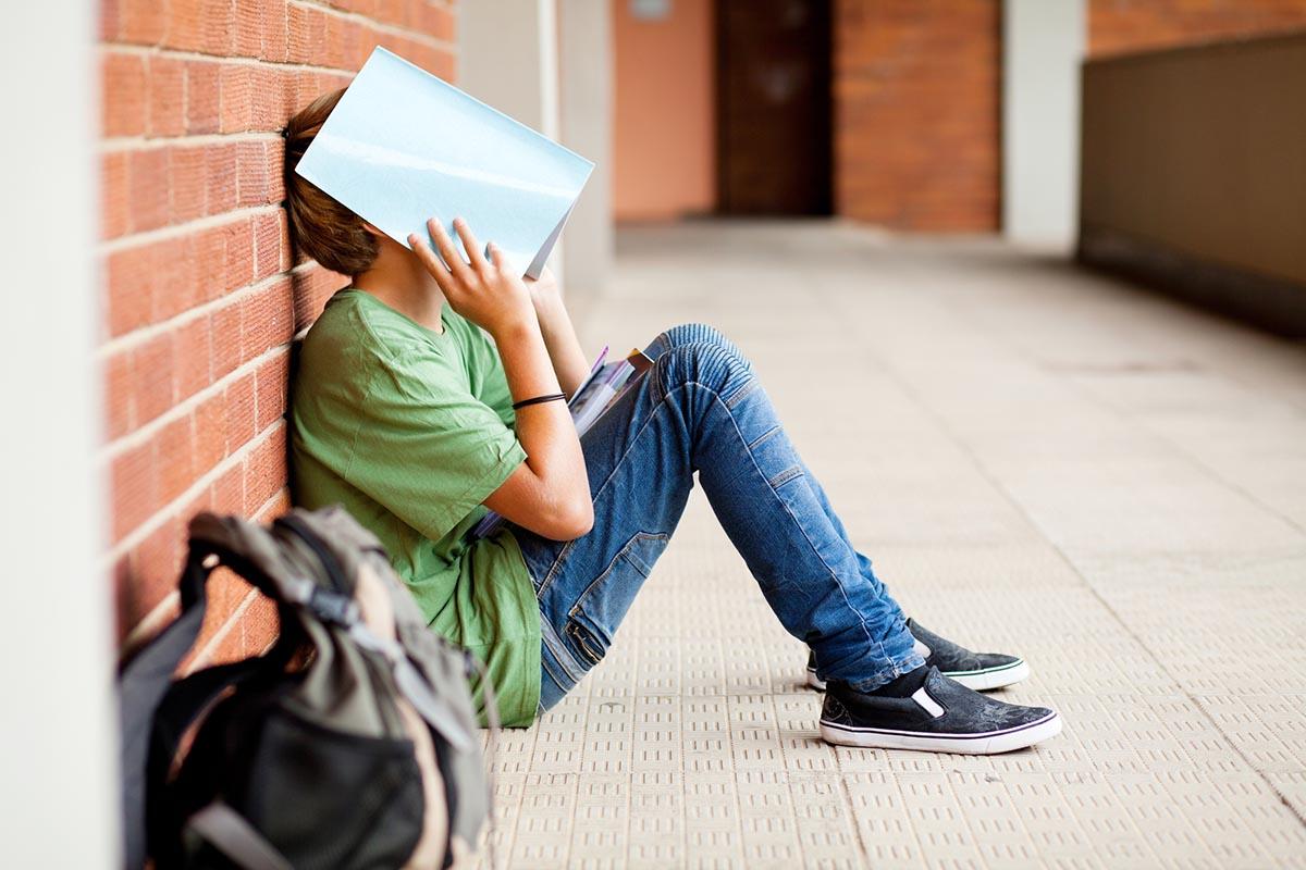подросток перестал учиться