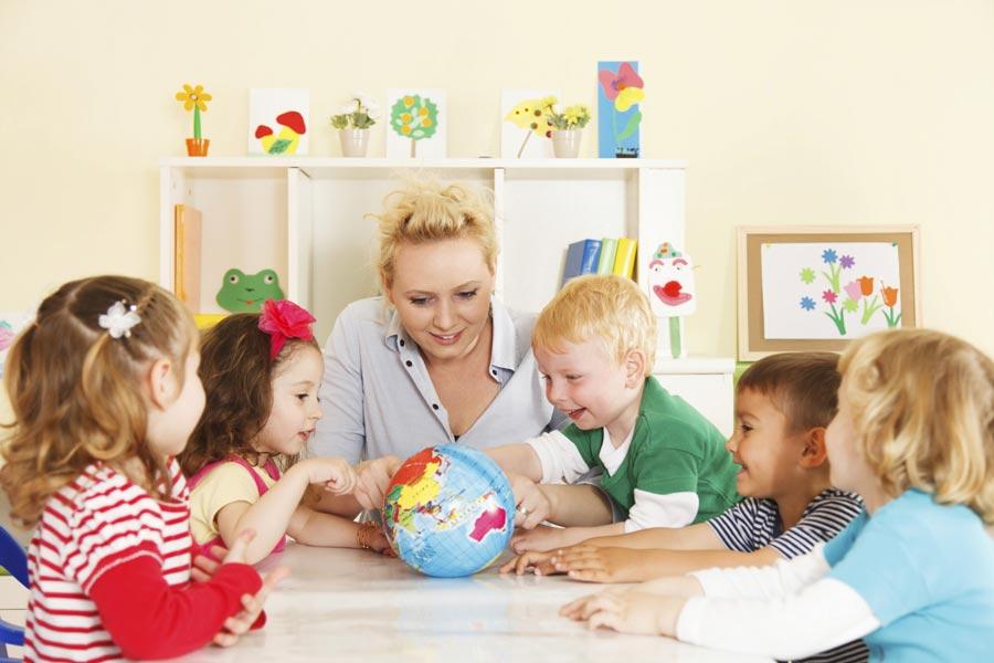 Детский сад-лагерь