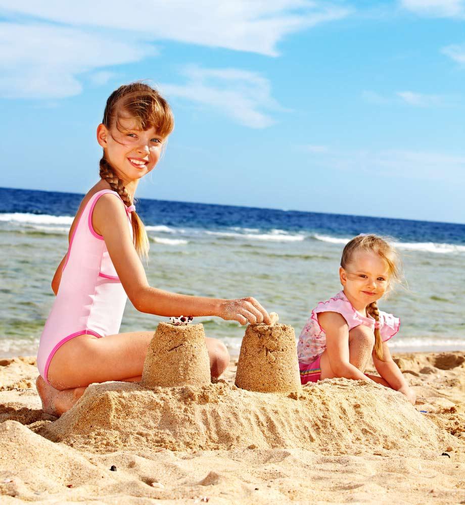 Как построить замок из песка
