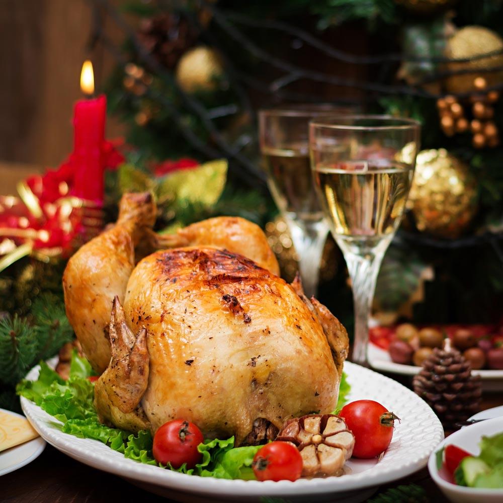Блюда из птицы на Рождество