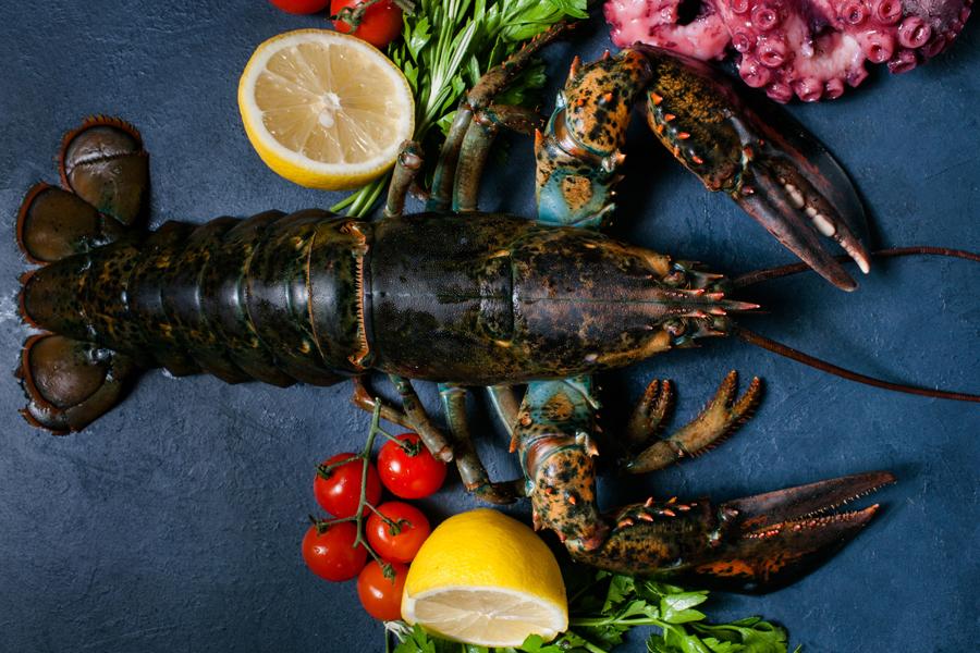 Блюда из омара и лобстера