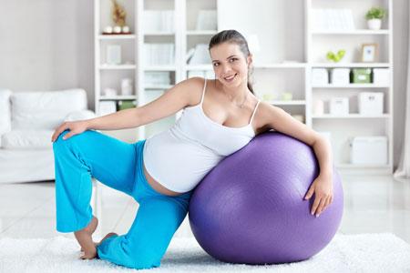 Фитбол в период беременности