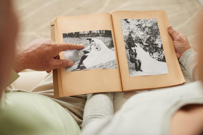 Как хранить свадебные фотографии