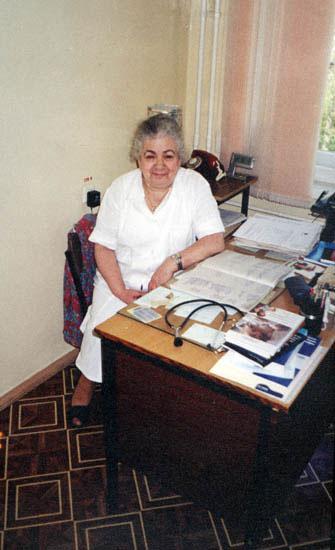 Заведующая отделением Софья Яковлевна Рудницкая