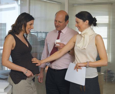 Как сообщить о беременности на работе