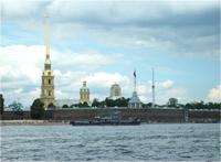 Петропавловская крепость, шпиль которой был сделан на нашем Воткинском заводе