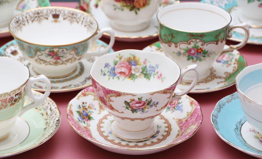 История фарфоровой посуды