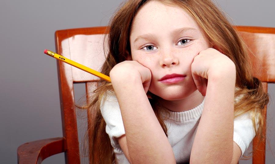 Ребенок ничего не делает на уроках