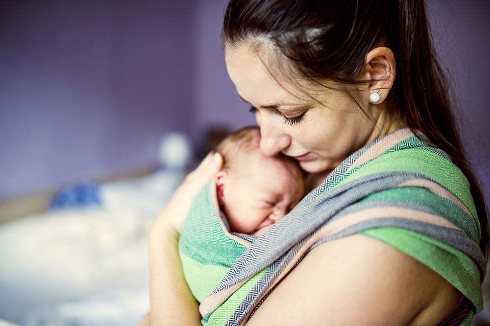 Как все успеть с младенцем на руках