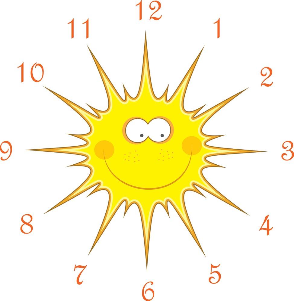 Учим ребенка определять время