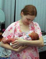 Молодая мама