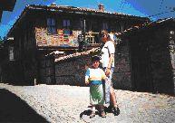 Улочки старого Созополя необыкновенно живописны
