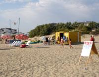 Пляж Джемете - совсем другое дело: Прокат  на пляже в районе Джемете