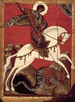 Икона 'Чудо святого Георгия'