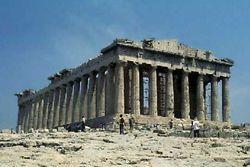 Парфенон - храм богини Афины на Афинском акрополе, Греция