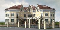 Новое здание школы 'Бакалавр-Княжье Озеро'