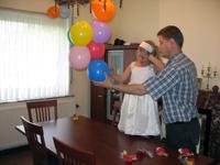 Седьмой день рождения Катюшки