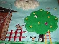 Развивающий коврик для дошколят