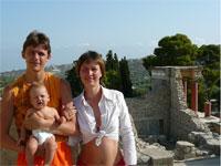 На Крит с малышом