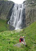 Поход к водопаду