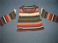 Свитер для ребенка из старого свитера