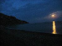 Ночь на побережье