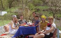 Пообедай путник в чайхане Караван-сарая