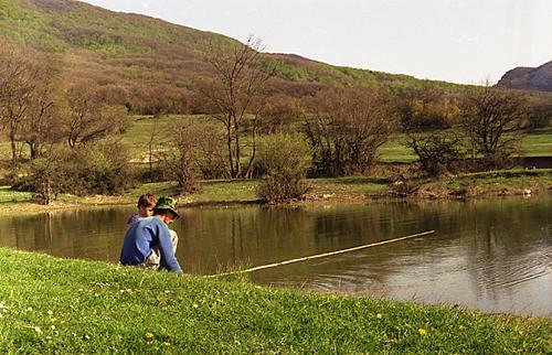 Вот такая в Крыму весной рыбалка