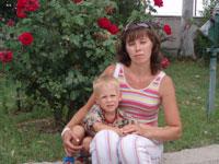 Мама с двумя детьми в Анталии