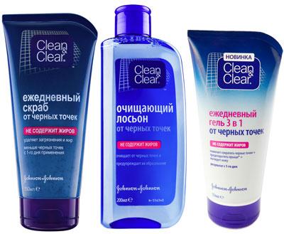 Косметика clean clear
