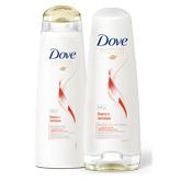 Линия Dove Блеск и питание: шампунь и бальзам