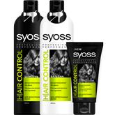 Средства по уходу за непослушными волосами Syoss Hair Control