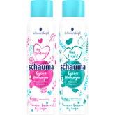 Сухие шампуни от Schauma