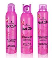 Got2b лак для волос мегамания