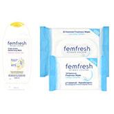 Гель и салфетки для интимной гигиены от Femfresh