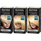 SYOSS: три осветляющих блонда для сияющего цвета и безупречного закрашивания седины