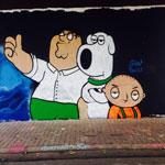 Граффити - рисунки повсюду!