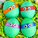 Пасхальные яйца: разрисовываем вместе с детьми