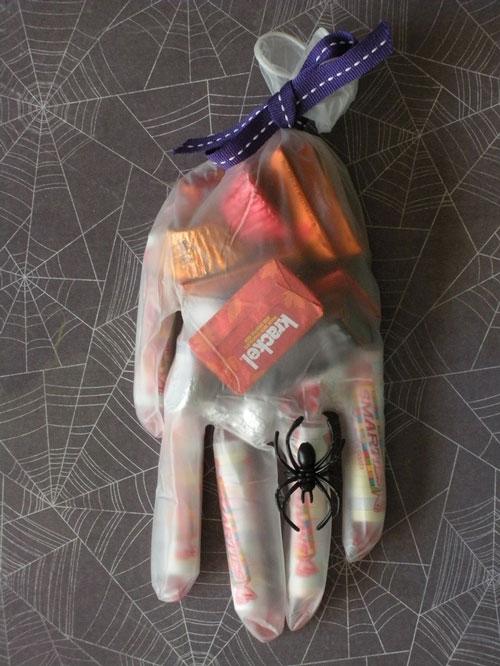 Упаковка перчаток своими руками