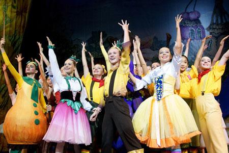 Розыгрыш билетов на балет Чиполлино
