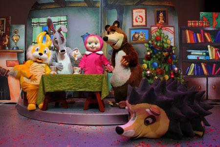 Розыгрыш билетов на спектакль 'Маша и медведь. Сказки-вверхтормашки.'