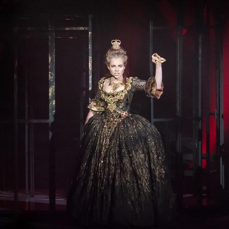 Фото Ю.Богомаза. На фото – Екатерина Гусева в роли Екатерины Великой