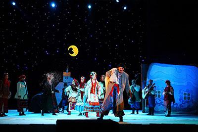 Розыгрыш билетов на музыкальную сказку Ночь перед Рождеством