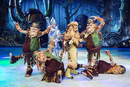 Новогоднее ледовое арена-шоу Волшебник страны OZ