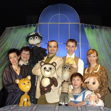 Розыгрыш билетов на кукольный спектакль 'Винни-Пух и все, все, все...'