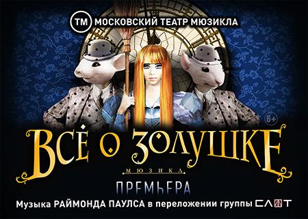 Розыгрыш билетов на спектакль 'Всё о Золушке'
