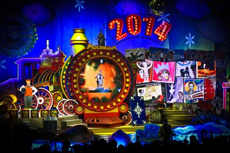 Розыгрыш билетов на новогоднее представление 'Киноелка на Мосфильме