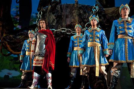Розыгрыш билетов на национальный мюзикл 'Лукоморье'