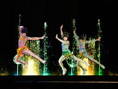 Розыгрыш билетов в 'Цирк танцующих фонтанов'